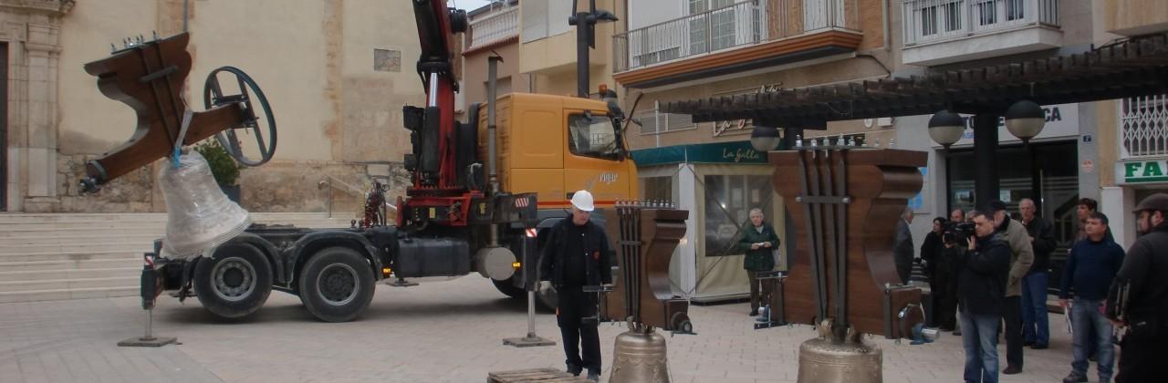 Restauración campanas (Torreblanca)